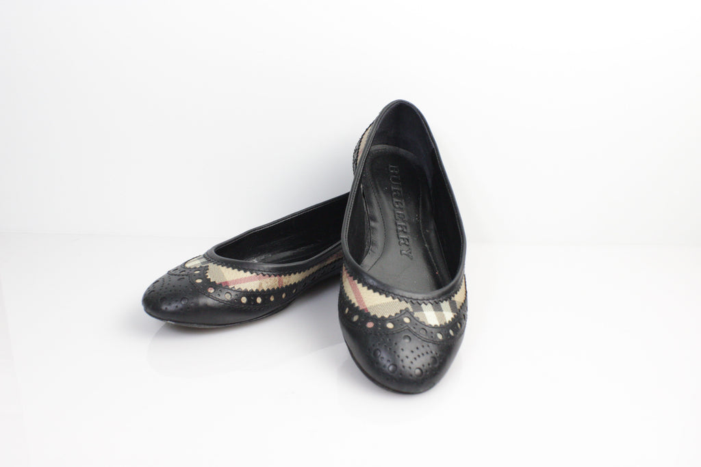Pre-owned - Patent leather flats Burberry k1QMtpS3