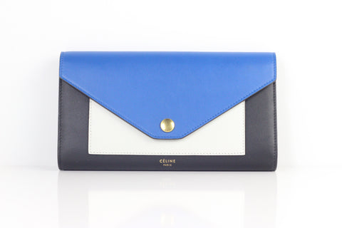 pre-owned CELINE POCKET TRIFOLD WALLET