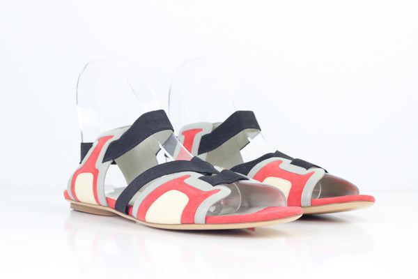 NEW BALENCIAGA DOUBLE STRAP SANDAL US:11