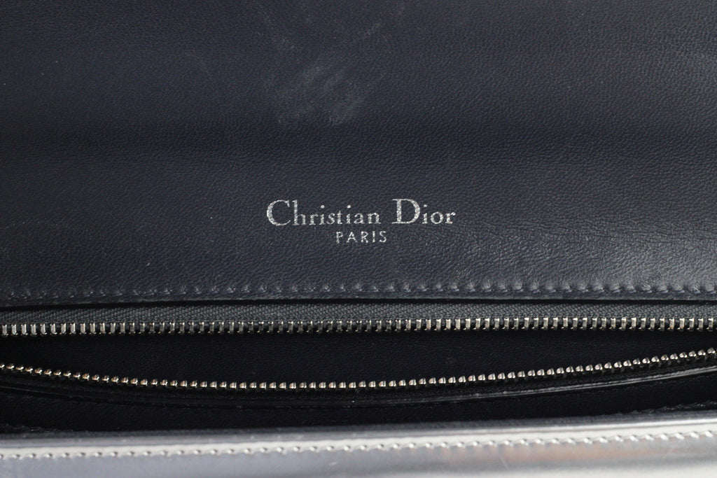 CHRISTIAN DIOR MEDIUM MICRO-CANNAGE DIORAMA BAG