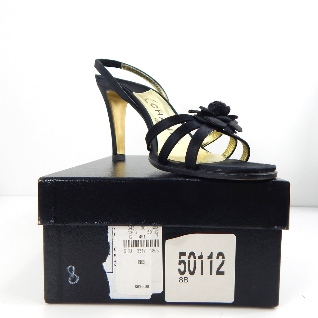 Pre-owned Black Chanel Heel