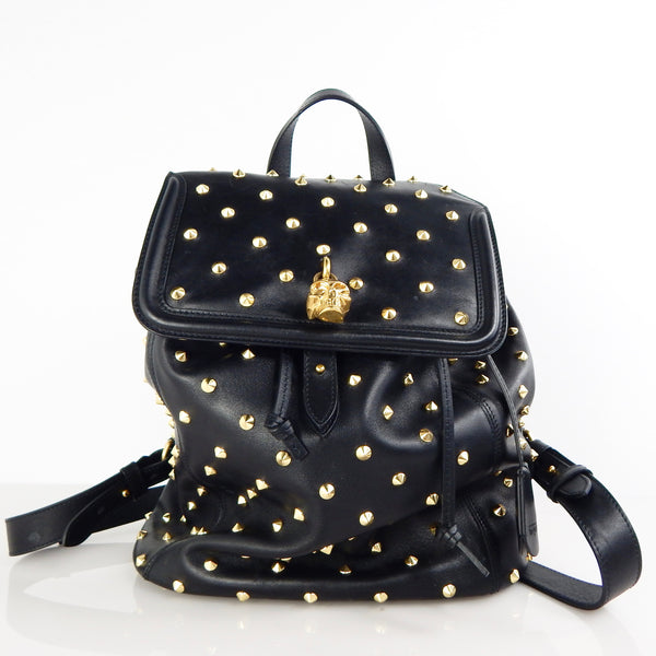 Alexander McQueen Spike Studded Padlock Backpack
