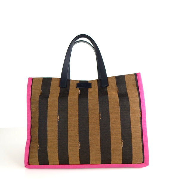Pre-owned Fendi Canvas Tote Bag