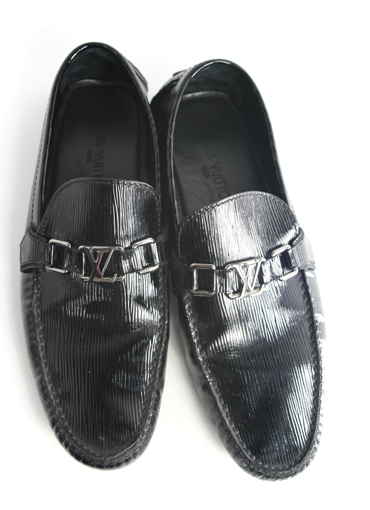Louis Vuitton Shiny Black Dress Shoe Haute March