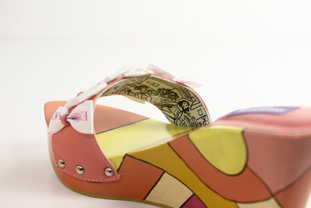 Emilio Pucci Candy Wedge