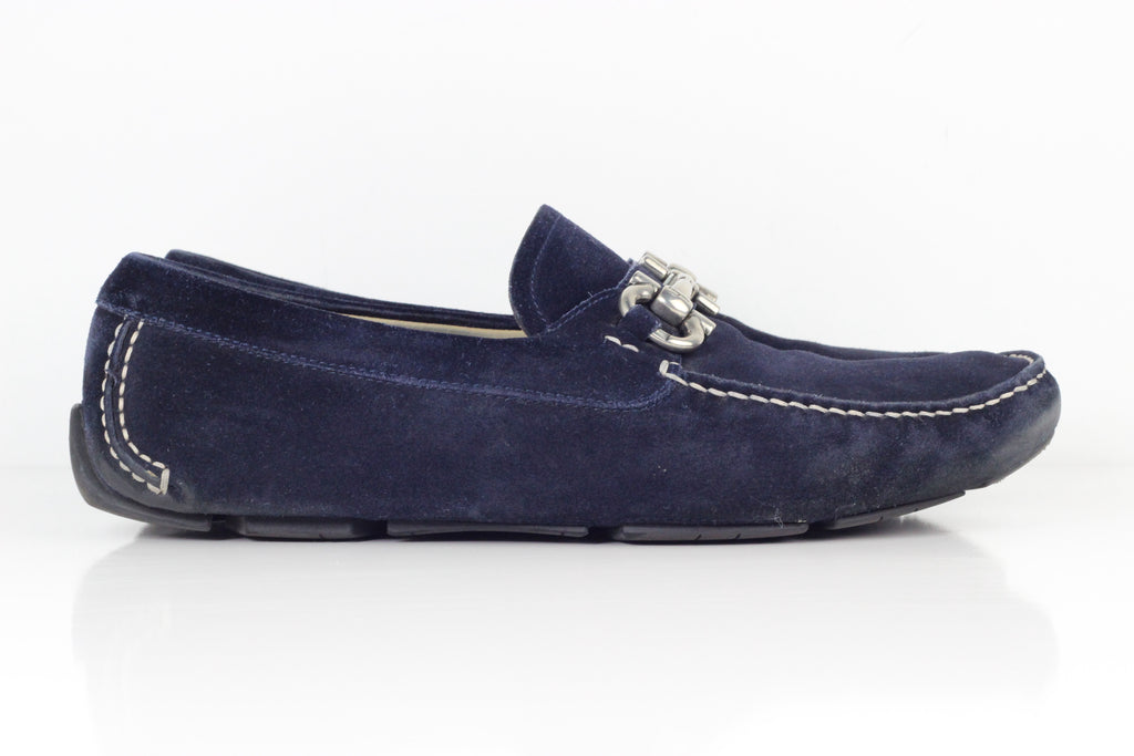 Salvatore Ferragamo Blue Shoes