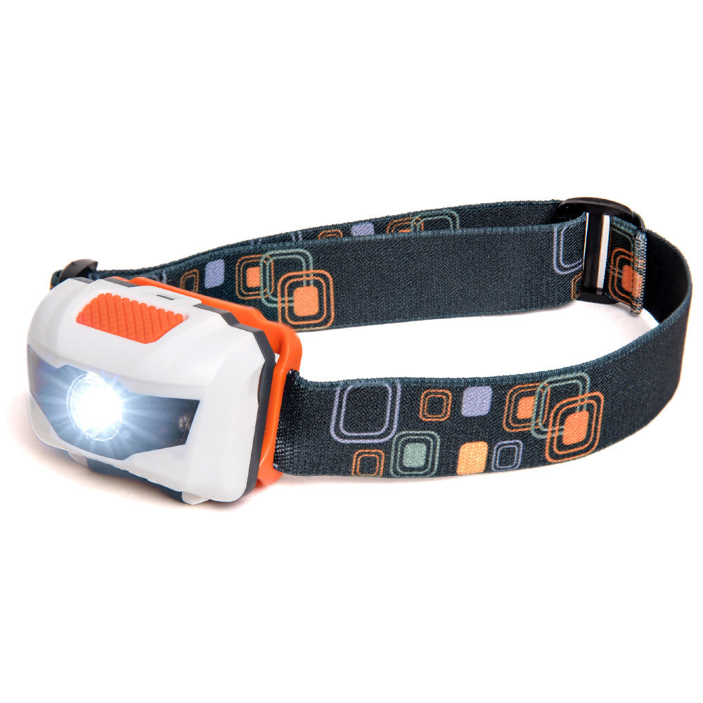 LED Headlamp - White/Orange (HL-101)