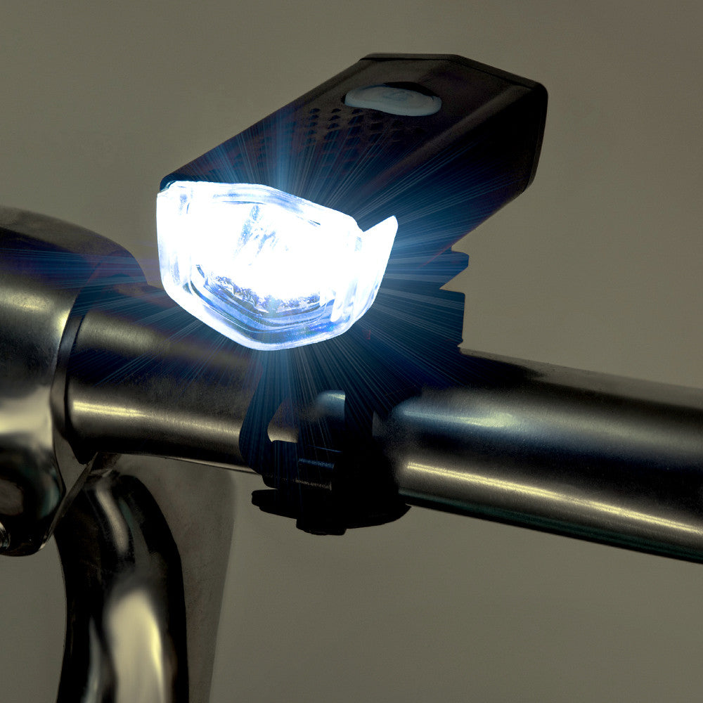 USB Rechargeable LED Bike Headlight | 300 Lumens (BL-105USB)