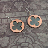 Cathedral Earrings - Copper Window - Sinclair Jewelry - 3