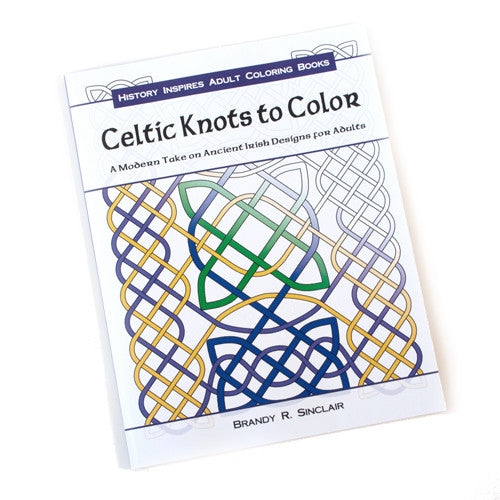 Celtic Knots Art Adult Coloring Book 1