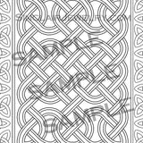 Celtic Knots Art Adult Coloring Book 5