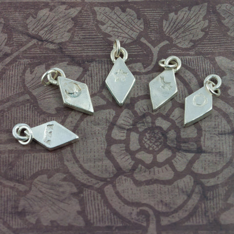 Silver Heraldic Cadency Charms - Daughters - Sinclair Jewelry - 2