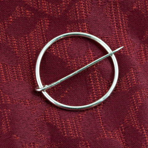 Sterling Silver Medieval Ring Pin - Sinclair Jewelry - 2