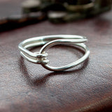 Silver Bronze Age Ring Replica - Sinclair Jewelry - 2