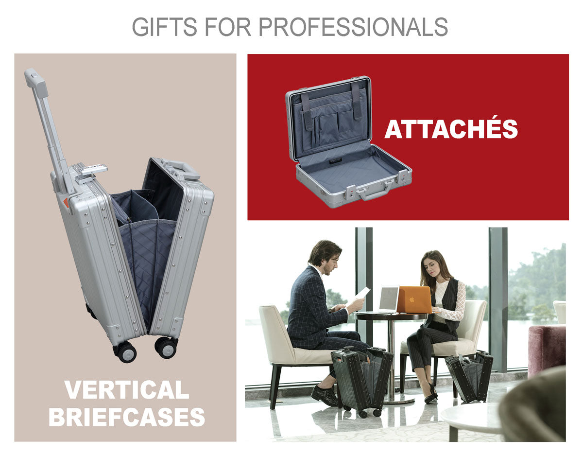 Aleon Aluminum Briefcases and Laptop Bags