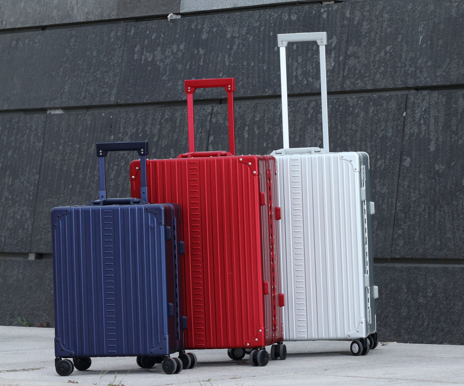 Aluminum Luggage ,Suitcases , and Briefcase in different colors