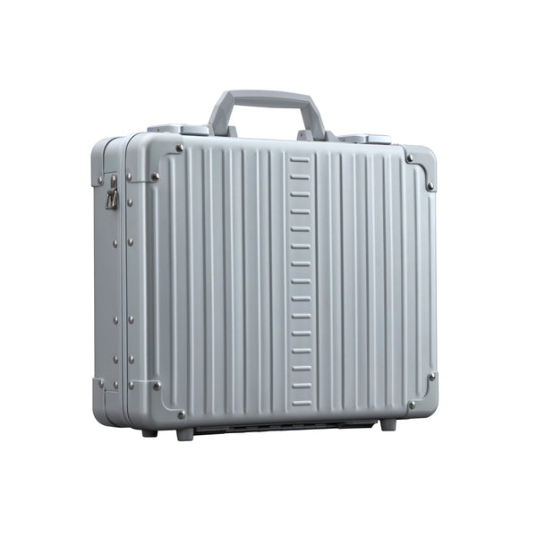 Attache briefcase aluminum luggage