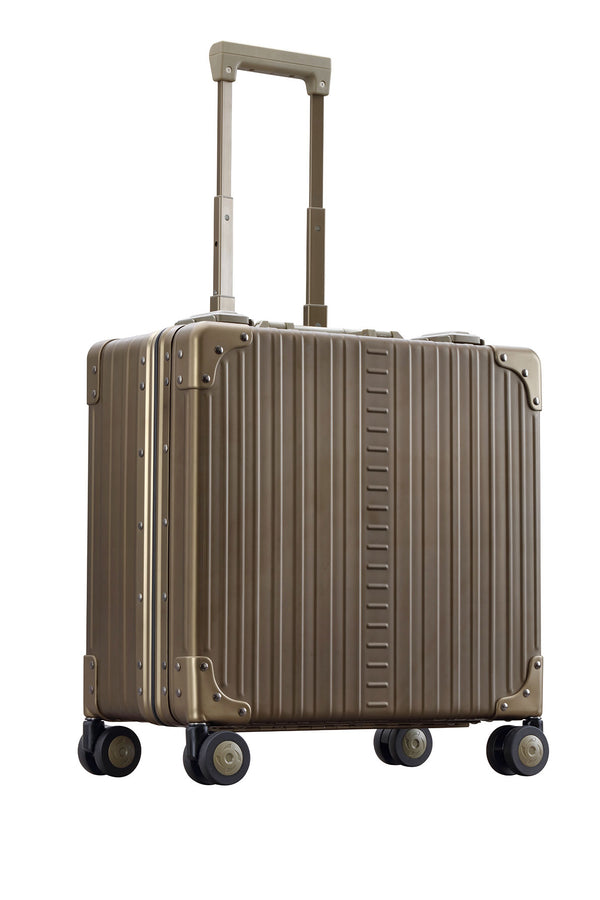 "Bronze 17"" Deluxe Wheeled Business Case"