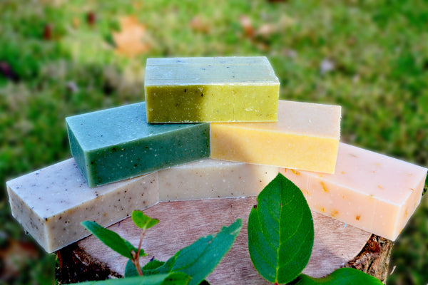 Organic Herbal Bar Soap