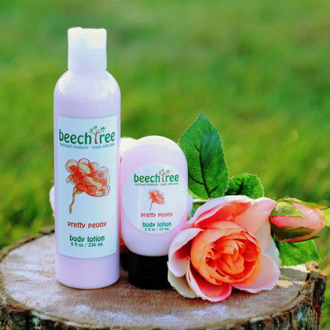 Hand-crafted body lotion with organic ingredients created by a social enterprise
