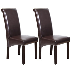 Glenn Dining Chair (Set of 2) Brown