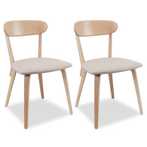 Reid Modern Dining Chair (Set of 2) Beige