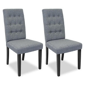 Larkin Dining Chair (Set of 2) Grey