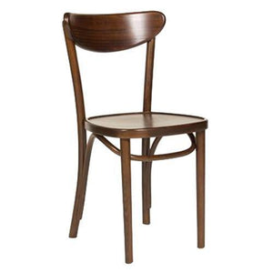 Elijah Wooden Dining Chair Walnut