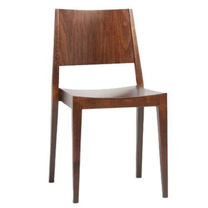 Percy Wooden Dining Chair Walnut