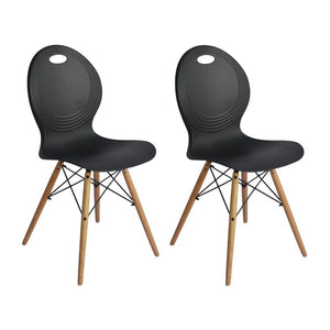 Astin Dining Chair (Set of 2) Black