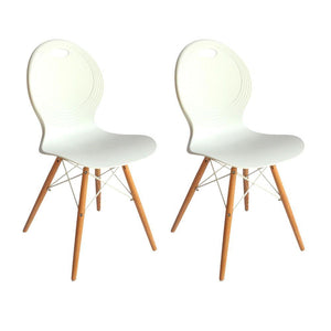 Astin Dining Chair (Set of 2) White