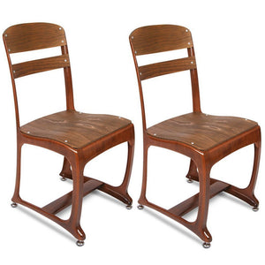 Bettina Dining Chair (Set of 2) Copper