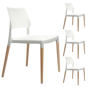 Geronimo Dining Chair (Set of 4) White