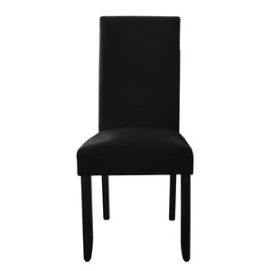 Porter Wenge Timber Leg Dining Chair Black