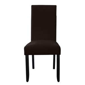 Porter Wenge Timber Leg Dining Chair Brown
