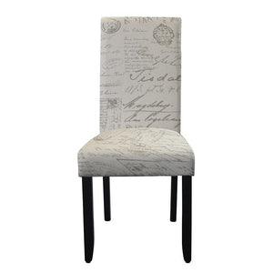 Porter Wenge Timber Leg Dining Chair Script
