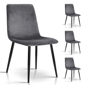 Morrison Dining Chairs (Set of 4) Grey