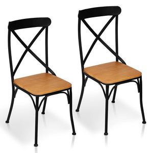 Willon Dining Chair (Set of 2) Black