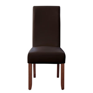 Seanna Chestnut Timber Leg Dining Chair Brown