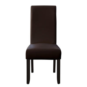 Seanna Wenge Timber Leg Dining Chair Brown