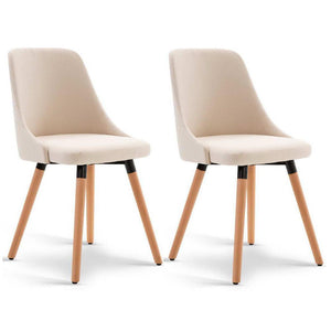 Freeman Dining Chair (Set of 2) Beige