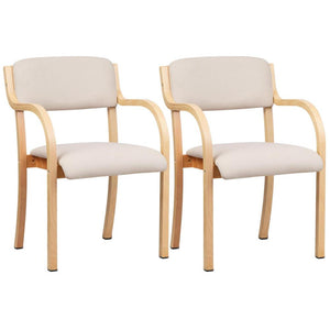 Donnally Dining Chair (Set of 2) Beige