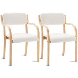 Donnally Dining Chair (Set of 2) White