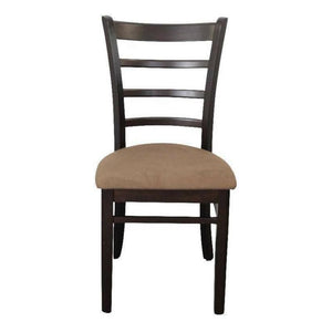 Delani Dining Chair with Fabric Seat Cappuccino