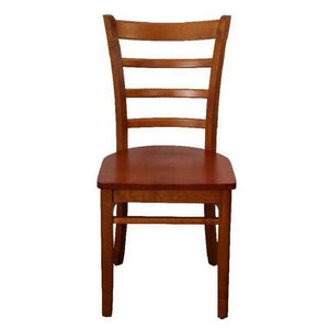Delani Dining Chair with Timber Seat Oak