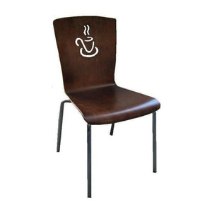 Milani Coffee Cup Chair Walnut