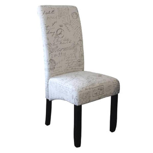 Seanna Wenge Timber Leg Dining Chair Script