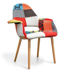 Meester Dining Chair Multicolour