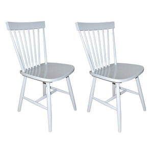 Dyer Dining Chair (Set of 2) Light Grey