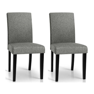 Rushing Dining Chair (Set of 2) Grey